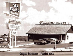The Origianl Sea Island Shrimp House - Founded 1965