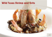 Wild Texas Shrimp and Grits