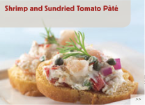 Shrimp and Sundried Tomato Pâté