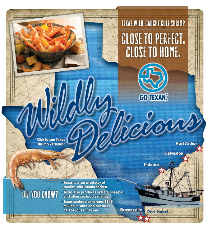 Texas Wild-Caught Gulf Shrimp - Close to Perfect. Close to Home.