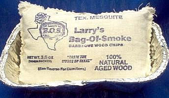 larry's bag of smoke wood chips