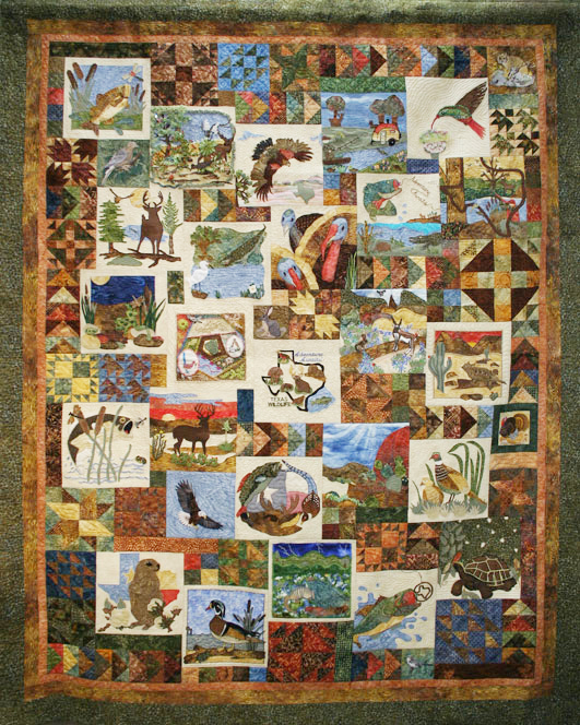 Tda quilt collection for Fishing themed fabric
